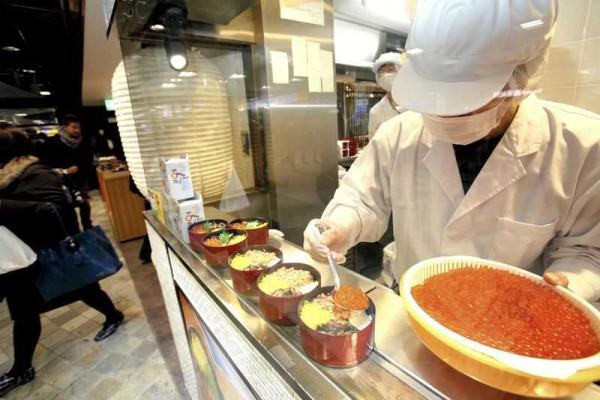 Đơn hàng cơm hộp đi Nhật lương cao